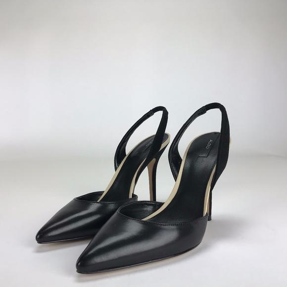 4d8e0d2f6b Aldo Adelania Black Women's Slingback Heels. NWT. ALDO.  M_5c2feaa9df03074f3009b2c6. M_5c2feaa9c61777921eda89d9.  M_5c2feaa9f63eeaf38140a53d